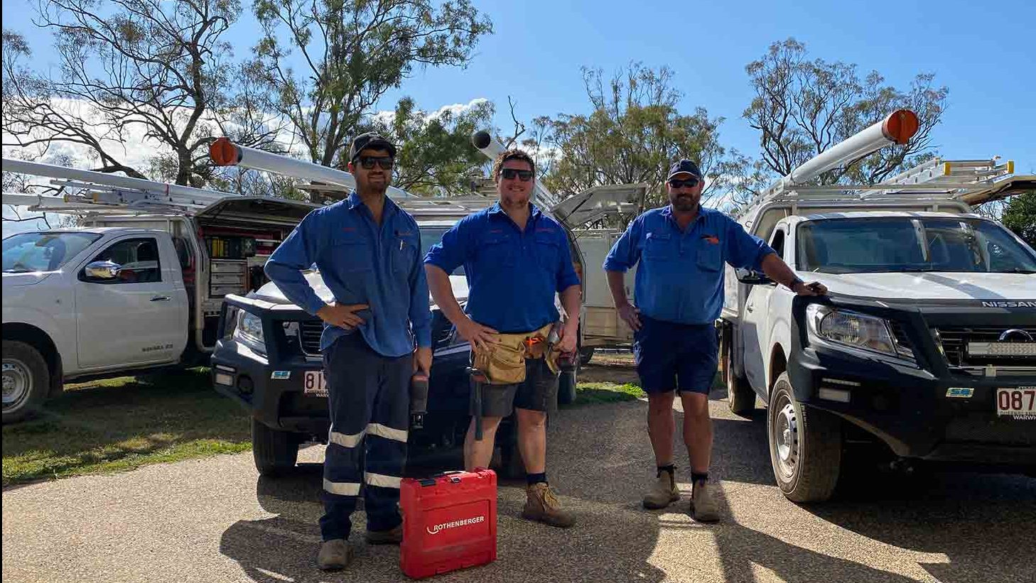 hero_Condamine plumbing and drainage plumbers
